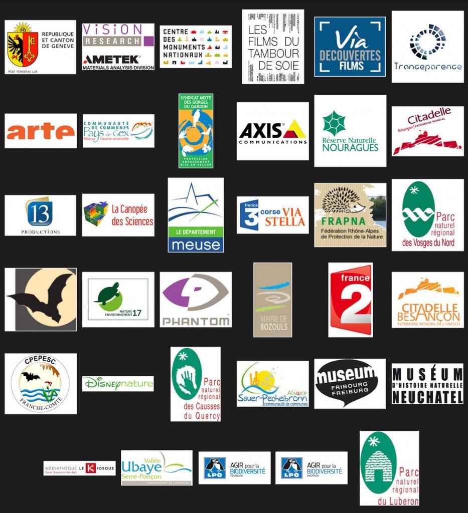 Les partenaires et clients de NOCTILIO Productions