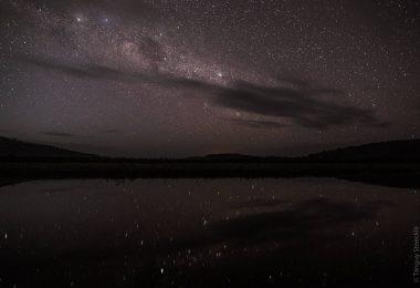 Les marais de Kaw sous les étoiles